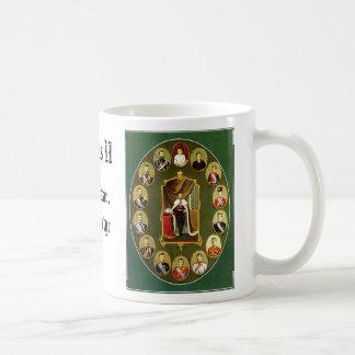Nicholas II - Multiple, Nicholas II - Blue, Nic... Coffee Mug