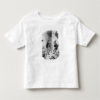 Nicholas instructs Smike in the art of acting Toddler T-shirt