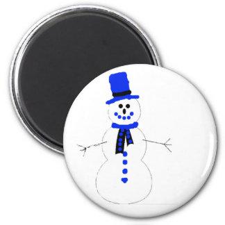 nicholas.p.snowman magnet