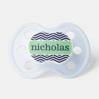 """""""Nicholas"""" Personalized Name - Chevron Print"""