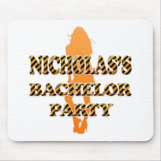Nicholas's Bachelor Party Mouse Pad