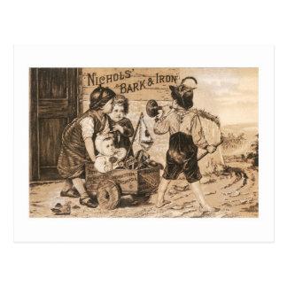 Nichols Bark and Iron Postcard