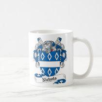 Nichols Family Crest Mug