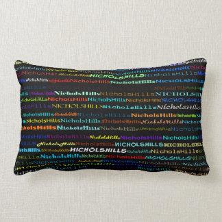 Nichols Hills Text Design I Lumbar Pillow