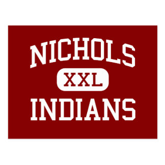 Nichols - Indians - Junior - Biloxi Mississippi Postcard