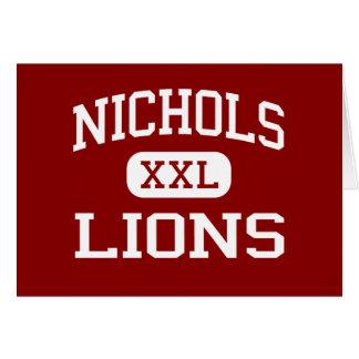 Nichols - Lions - Middle - Evanston Illinois Card