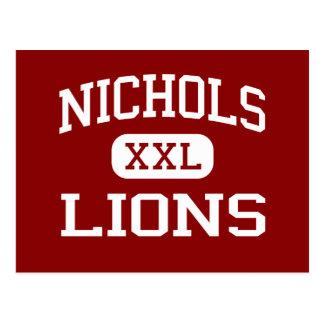 Nichols - Lions - Middle - Evanston Illinois Postcard