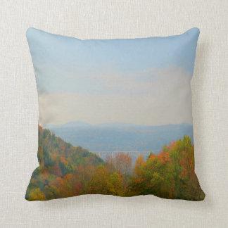 Nicholson Bridge, Pennsylvania Throw Pillow