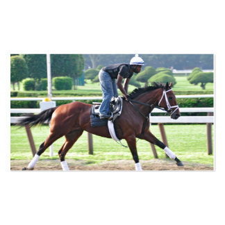 Nick Bush and Todd Pletcher Workouts Business Card