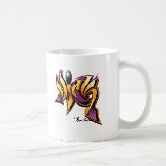 nick classic white coffee mug
