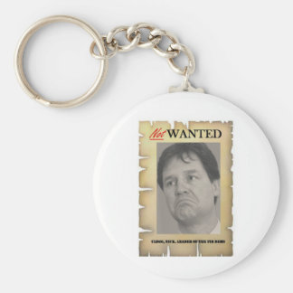 NICK CLEGG NOT WANTED BASIC ROUND BUTTON KEYCHAIN