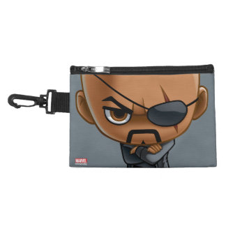 Nick Fury Stylized Art Accessory Bag