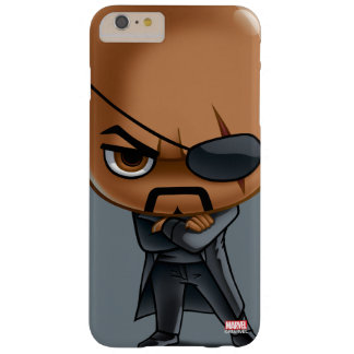 Nick Fury Stylized Art Barely There iPhone 6 Plus Case