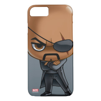 Nick Fury Stylized Art iPhone 8/7 Case