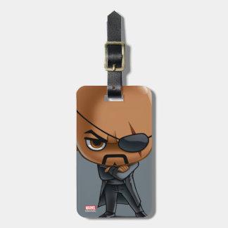 Nick Fury Stylized Art Luggage Tag