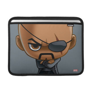 Nick Fury Stylized Art MacBook Sleeve
