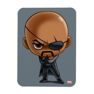 Nick Fury Stylized Art Magnet