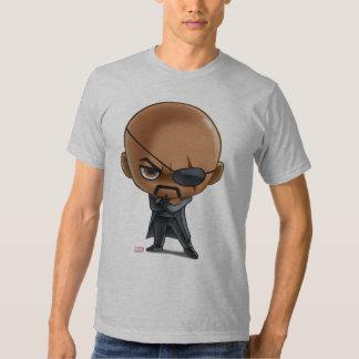 Nick Fury Stylized Art T Shirt