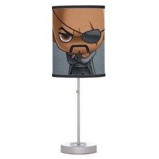 Nick Fury Stylized Art Table Lamp