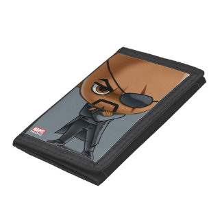 Nick Fury Stylized Art Trifold Wallet