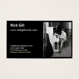 Nick Gill Card