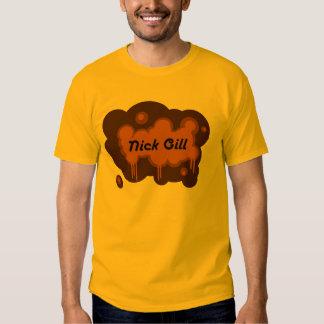 "Nick Gill ""It's basic"" T Shirt"