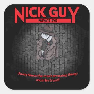 Nick Guy, Private Eye Square Sticker