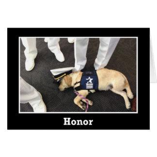 Nick Honor Card