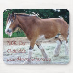 NICK Our Clydesdale Mouse Pad