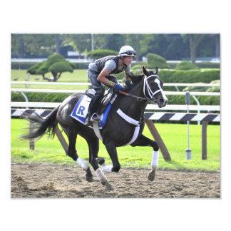 Nick Petro on a Katherine Ritvo Horse Photographic Print