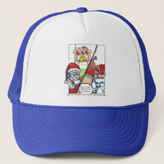 """Nick & The Bear """"Can't Drive a Stick!"""" Trucker Hat"""