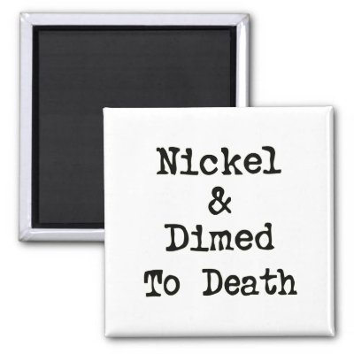 nickel and dimed argument A discussion of important themes running throughout nickel and dimed: on not getting by in america great supplemental information for school essays and projects.
