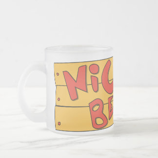 Nickel Beer Frosted Mug