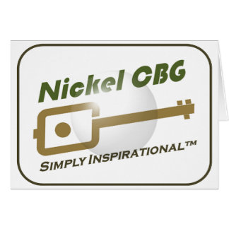 Nickel CBG Bubble Design Cards