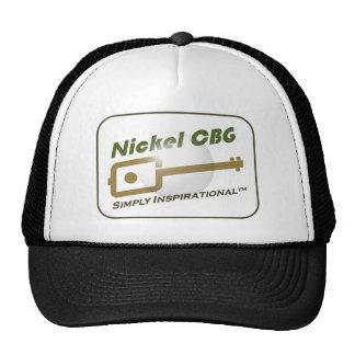 Nickel CBG Bubble Design Trucker Hats