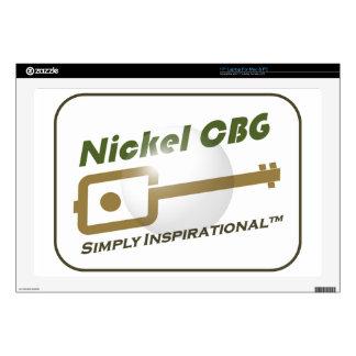 Nickel CBG Bubble Design Skins For Laptops