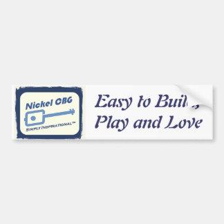Nickel CBG Bumper Sticker
