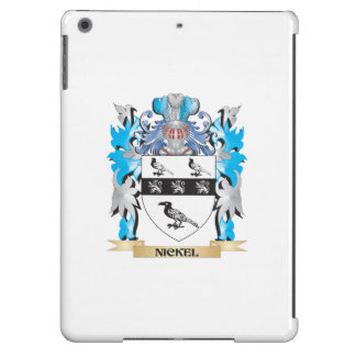 Nickel Coat of Arms - Family Crest Cover For iPad Air