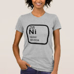 Nickel - Periodic table science design Shirt