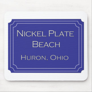 Nickel Plate Beach mousemat Mouse Pad