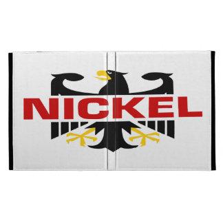 Nickel Surname iPad Folio Cases