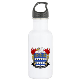 Nickerson Family Crest 18oz Water Bottle
