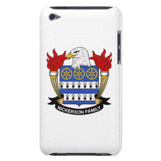 Nickerson Family Crest Barely There iPod Cases
