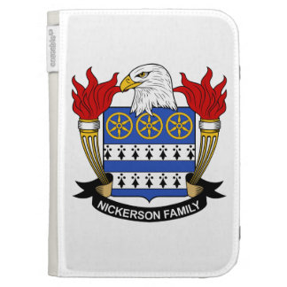 Nickerson Family Crest Kindle Covers
