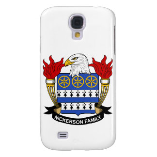 Nickerson Family Crest Samsung Galaxy S4 Cover