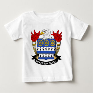 Nickerson Family Crest T-shirts
