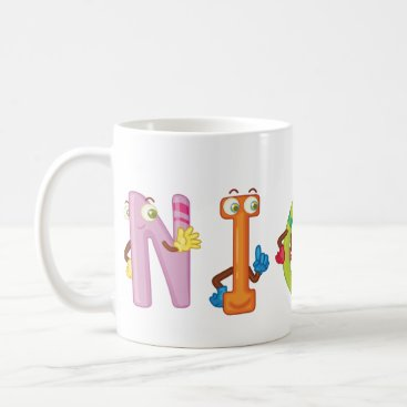 Beach Themed Nicki Mug