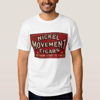 Nickle Movement Cigar 1900 Tee Shirt