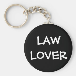 Nickname for Lawyer Judge Attorney - Law Lover Basic Round Button Keychain