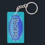"""Nickname Pookie Keychain<br><div class=""""desc"""">Pookie acrylic keychain</div>"""